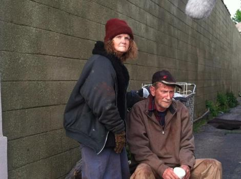 THE INVISIBLE.  I portray Minnie, a homeless woman.