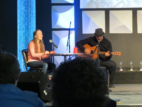 The evening included fabulous entertainment  with original songs as well as praise and worship.