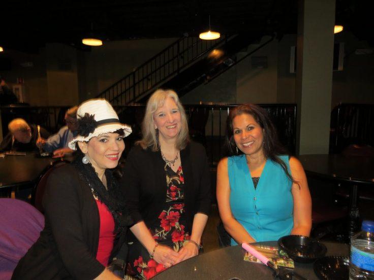 Cheryl Wicker, Sharon Wilharm, Fatima Eid