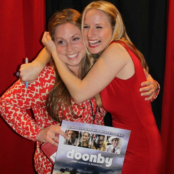 Rebecca Huey and Jenn Gotzon