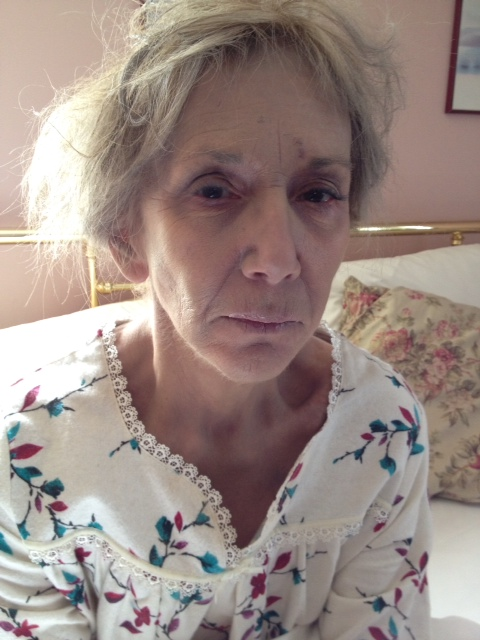 Pat as Old Sophia in A Cry From Within