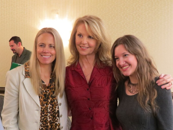 Shannen Fields, Francine Locke, and Rebekah Cook were three of the celebrity actresses.