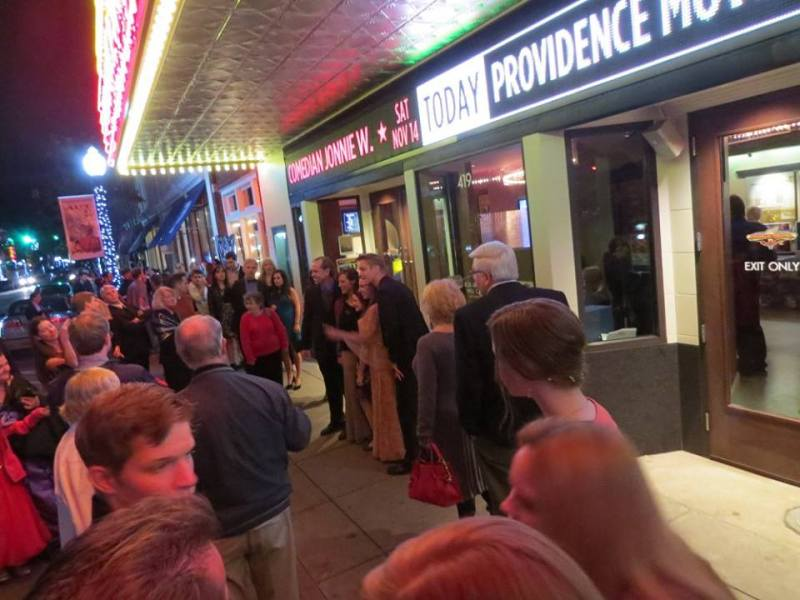 Providence Red Carpet Premiere at historic Frankiln Theatre