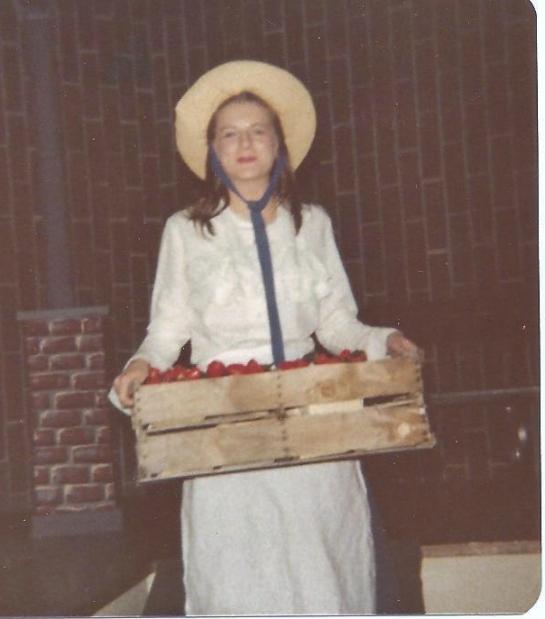 Brenda Strawberry Seller 1978