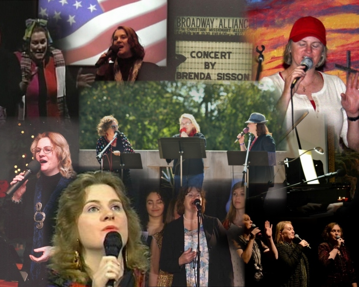Brenda Vocalist collage