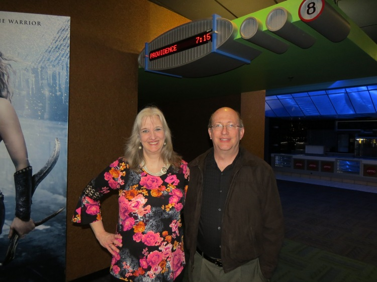 Fred and Sharon Wilharm at Providence screening Destin, Florida