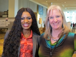 Sharon Wilharm and Nicole C Mullen at NRB convention