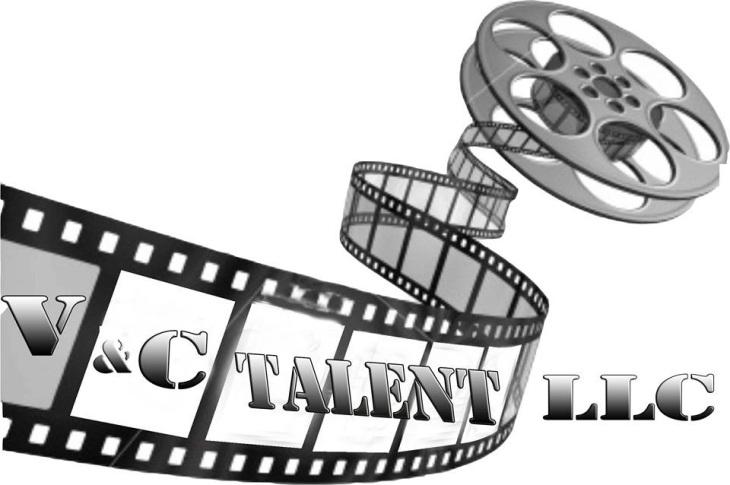 V and C Talent logo