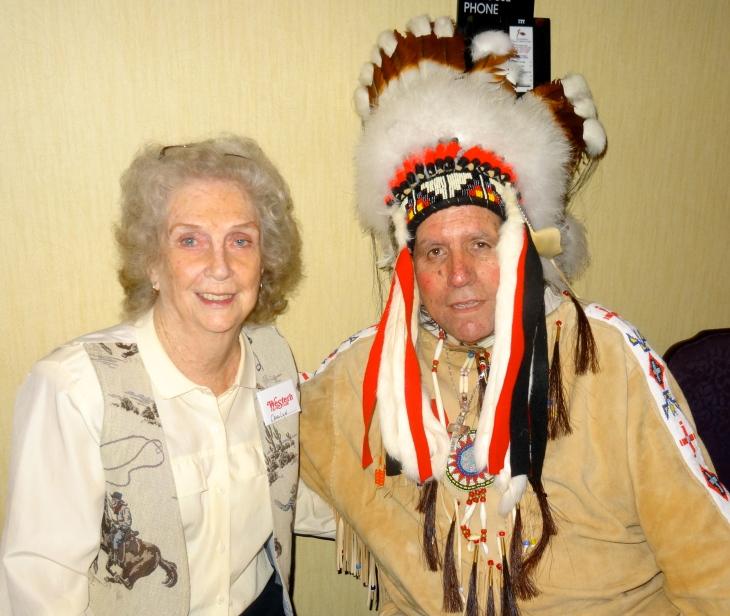 west Carolyn &  Steve Silverheels.