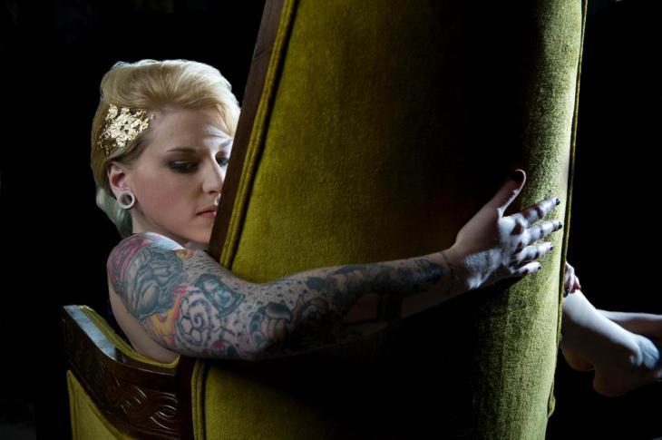 Artist Katy Parsons