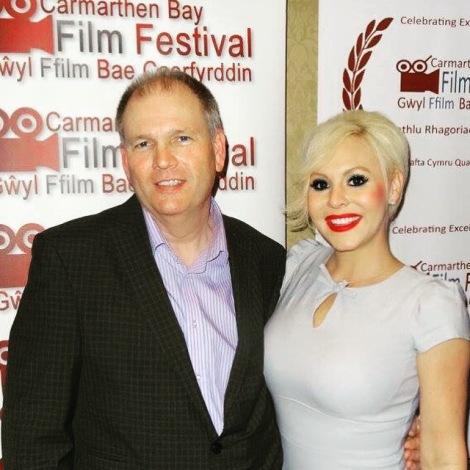 Jamie Lee Smith at Carmathen Bay Film Festival