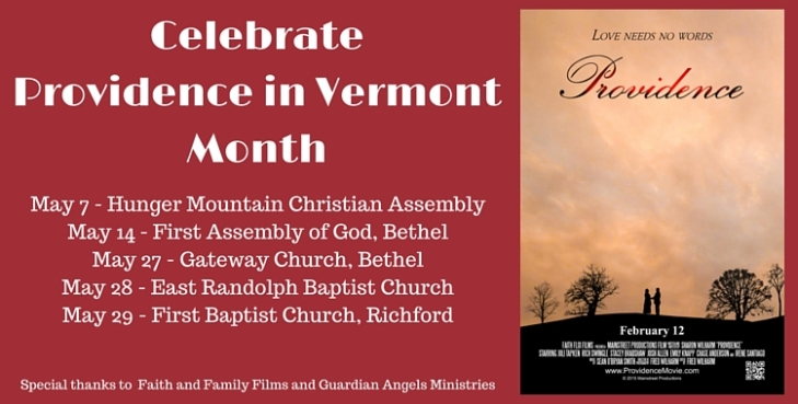 May is Providence in Vermont Month