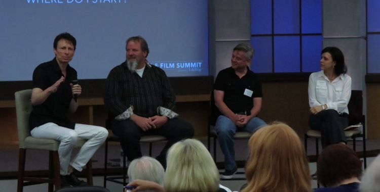 Steve Taylor, Rich Peluso, Bryan Coley, and Ami McConnell