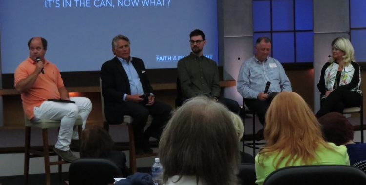 Senior VP at Provident Ben Howard leads the distribution panel with Chip Murray, Ryan Dunlap, Wayne Zeitner, and Joan Takersly