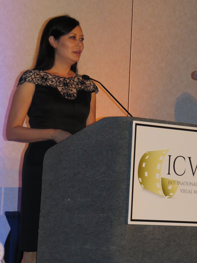 Tosca Lee at ICVM Crown Awards