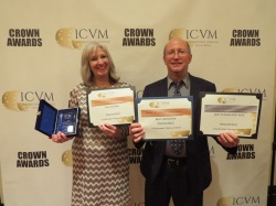 Fred and Sharon Wilharm at ICVM Crown Awards 2016