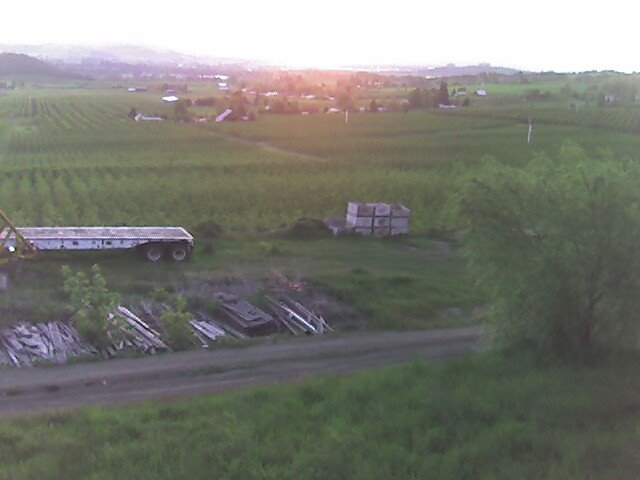 Rich Swingle's family farm