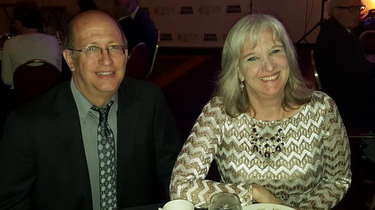 Fred and Sharon Wilharm at ICVM Crown Awards