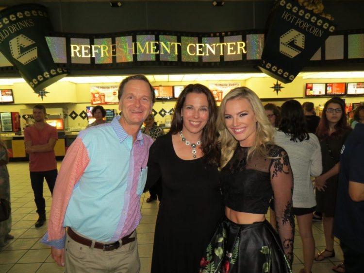 Wynn Rychart, Mary Meyers, and Allee-Sutton Hethcoat at Remember the Goal premiere