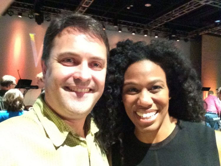 Stephen Hullfish with Priscilla Shirer