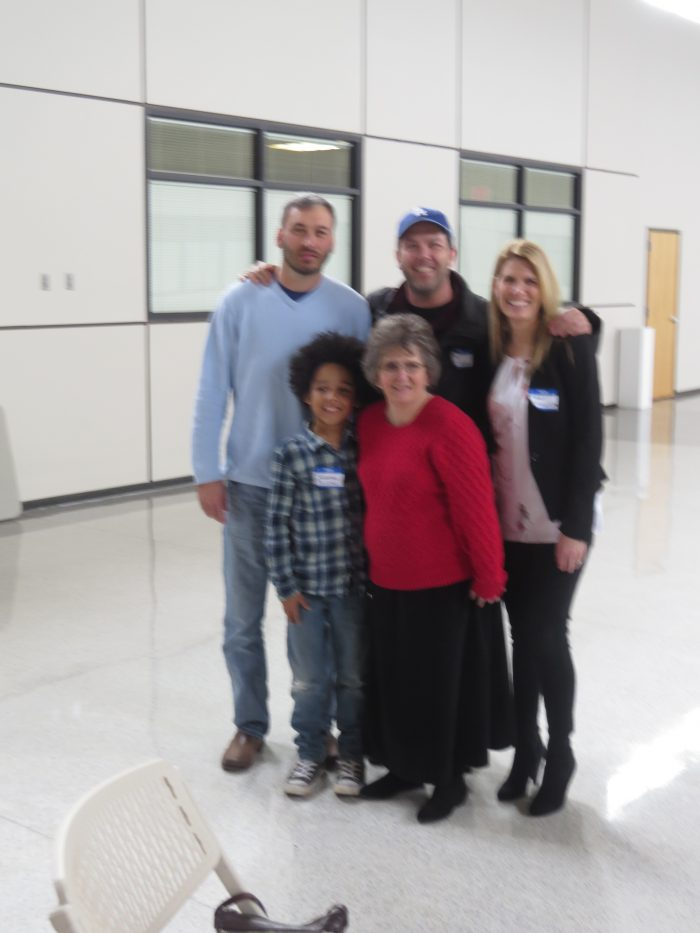 Cheryl Mann with Huntsville actors