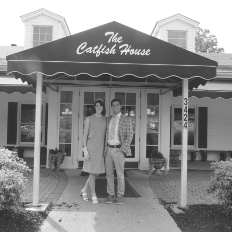 Summer of '67 movie films at The Catfish House in Springfield, Tennessee.