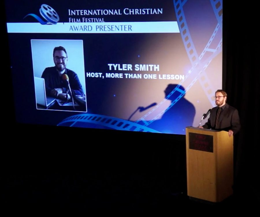 Tyler Smith at International Christian Film Festival