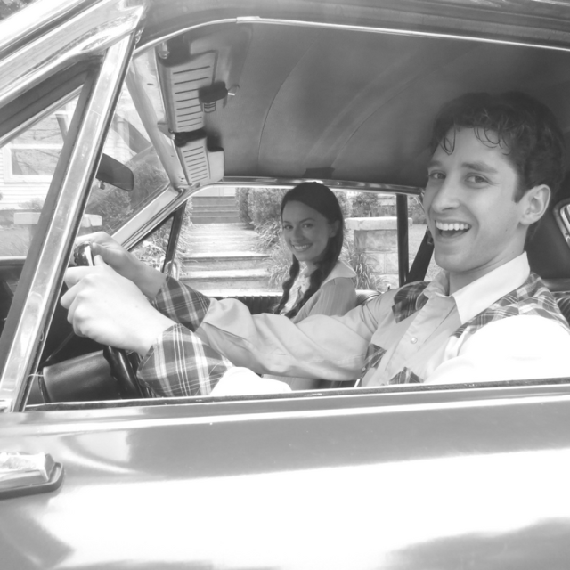 Bethany Davenport and Christopher Dalton in Summer of '67 movie