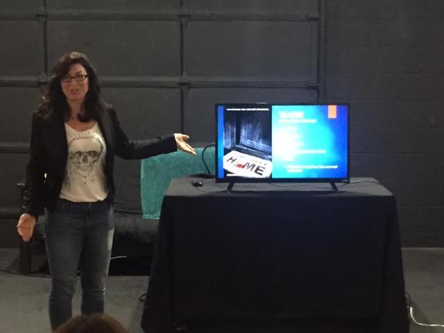 Alexandra Boylan teaching film distribution