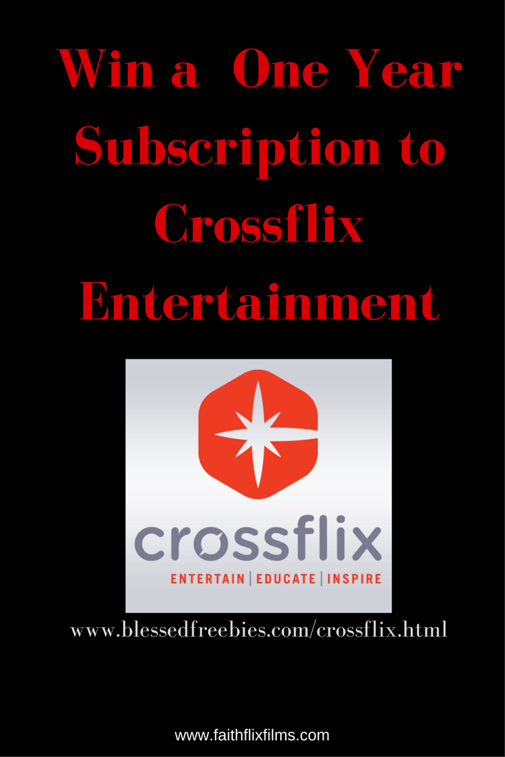Crossflix win a free one year subscription