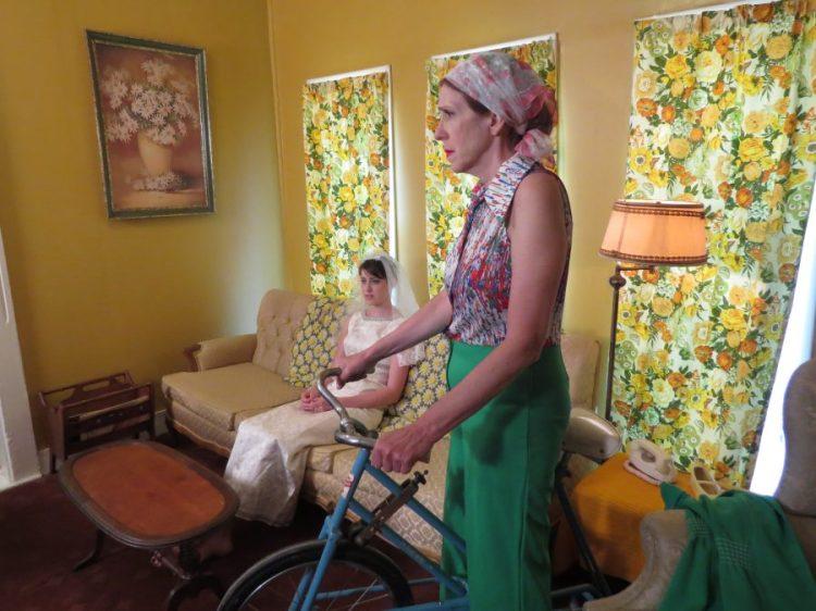 Summer of '67 behind the scenes filming, Rachel Schrey, Mimi Sagadin