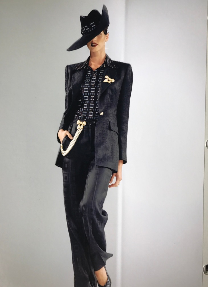 Jeannie Garcia in fashion show