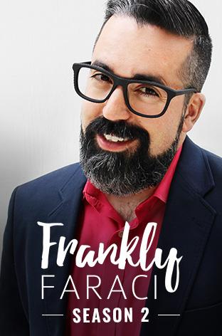Matthew Faraci hosts Christian talk show Frankly Faraci, a Dove Channel exclusive