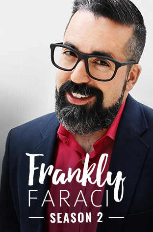 Matthew Faraci hosts Christian talk show Frankly Faraci, a Dove Channel exclusive