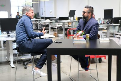 Matthew Faraci chats with CEO Ron Johnson, who created the @apple store for Steve Jobs