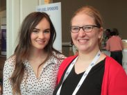 Brittany Herd with Madeline Carroll