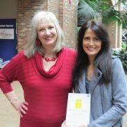 Sharon Wilharm interviews author Tricia Gunn at NRB 2018