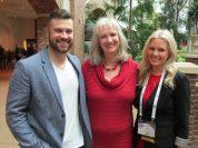 Sharon Wilharm interviews actors Brett Varvel and Terri Conn at NRB 2018