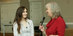 Sharon Wilharm interviews actress Madeline Carroll