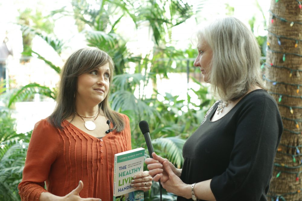 Sharon Wilharm interviews author Laura Harris Smith at NRB 2018