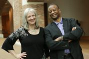 Sharon Wilharm interviews Larnelle Harris at NRB 2018