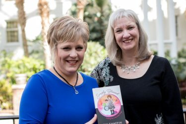 Kim Chaffin and Sharon Wilharm at NRB Convention
