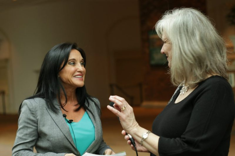 Sharon Wilharm interviews author Ann White at NRB 2018