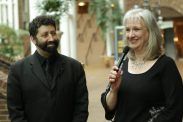 Sharon Wilharm interviews author Jonathan Cahn at NRB 2018