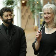 Sharon Wilharm interviews author Jonathan Cahn at NRB 2018