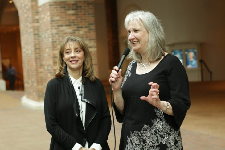 Sharon Wilharm interviews Jackelyn Viera Iloff at NRB 2018