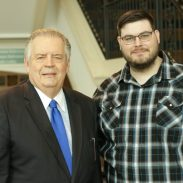 Pastor Clay Herd with Dr. Richard Land