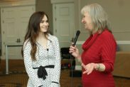 Sharon Wilharm interviews actress Madeline Carroll at NRB 2018