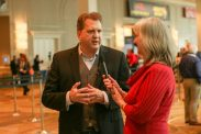 Sharon Wilharm interviews actor Daniel Roebuck at NRB 2018