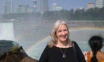 Sharon at Niagara Falls